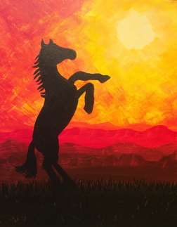 Sunset Stallion