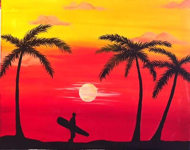 Sunset Surfer