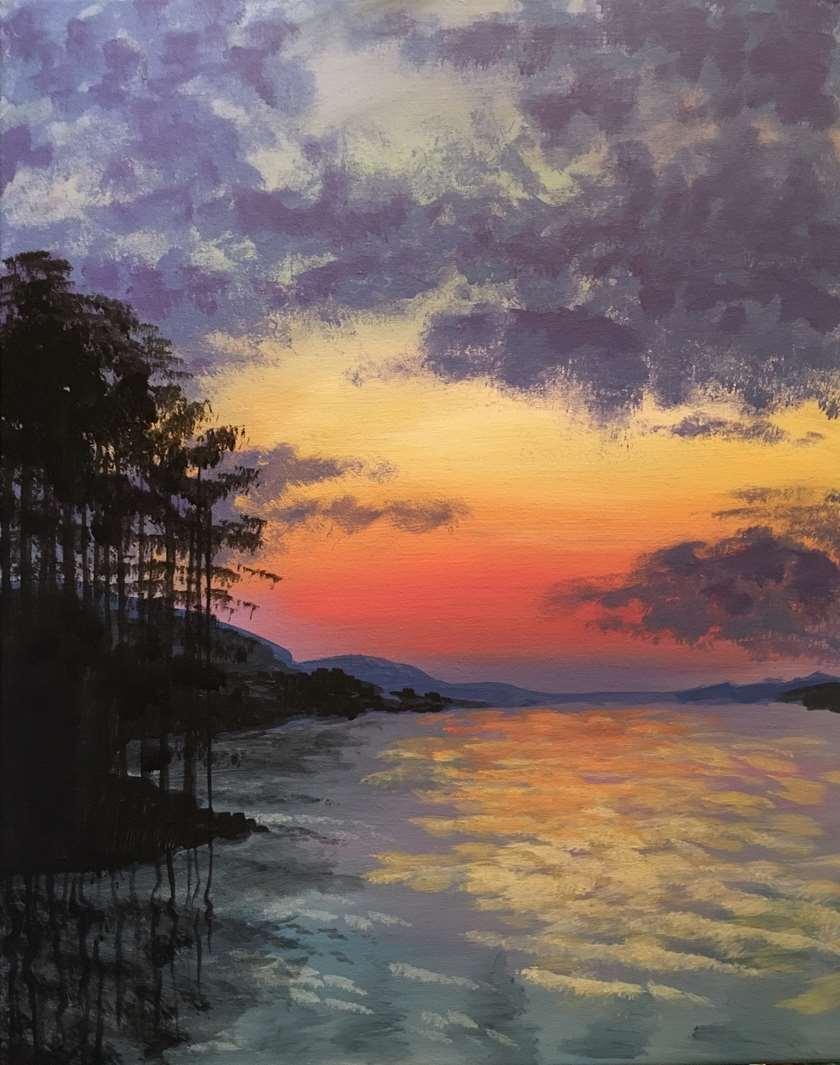 LIVE VIRTUAL CLASS- sweet home sunset