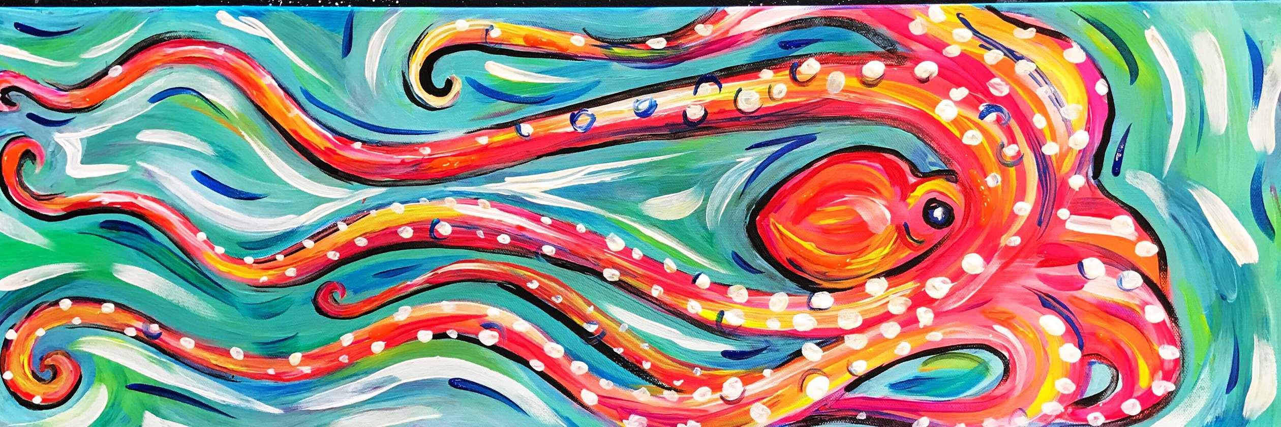 Swimming Octopus