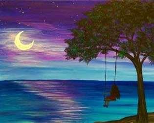 Swinging by Moonlight
