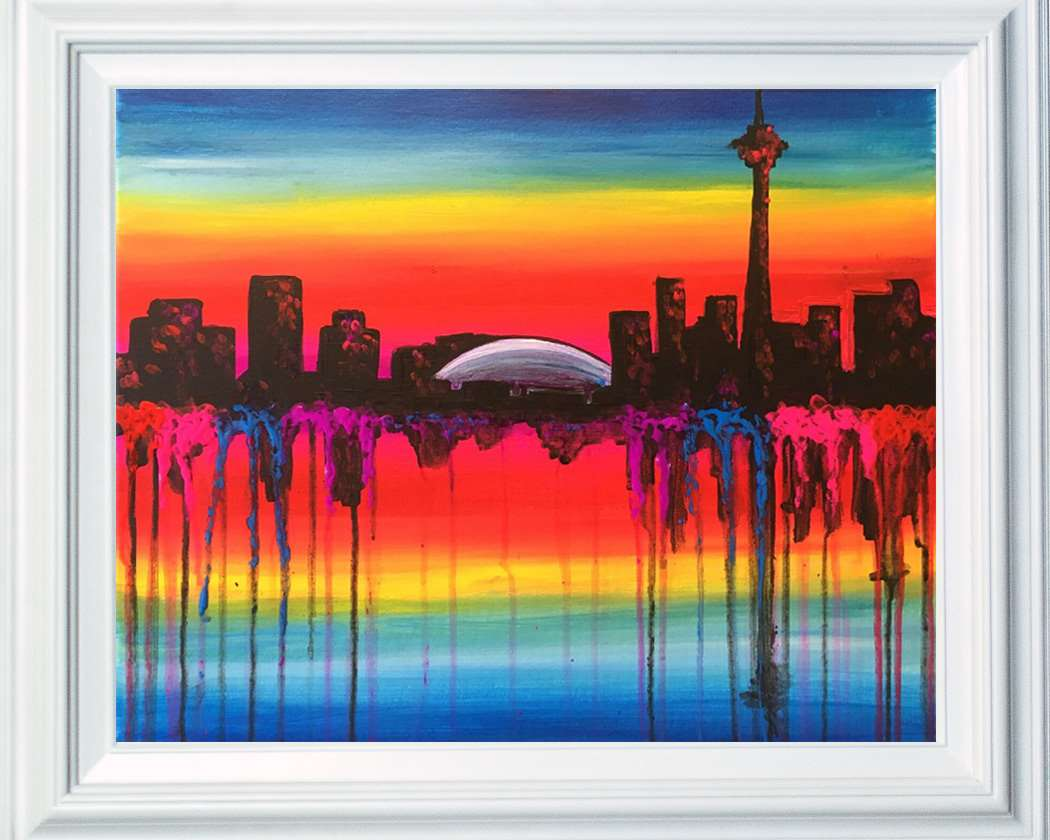Paint Your Beloved Downtown Toronto!