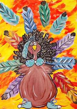 Tacky Turkey!