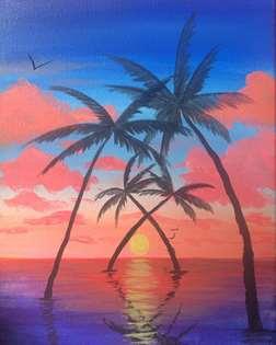 Tahitian Sunrise
