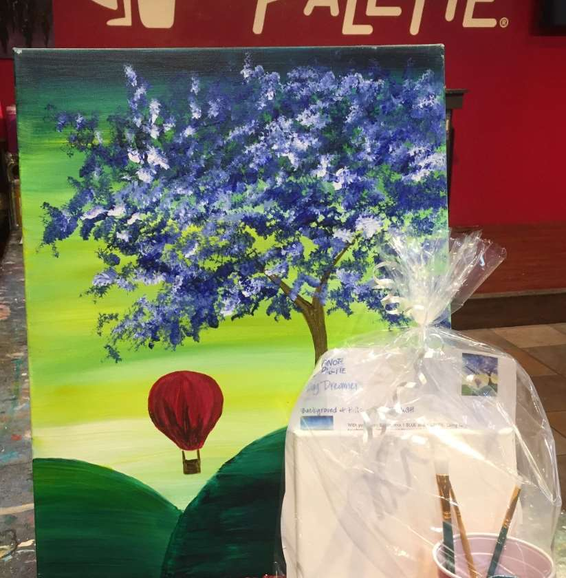 Take Home Painting Kit 8x8