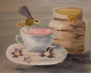 Tea with Bee