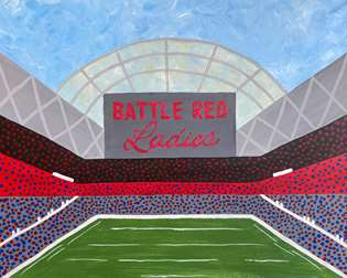 Texans Battle Red Ladies 2021