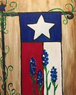 Texas Garden Flag
