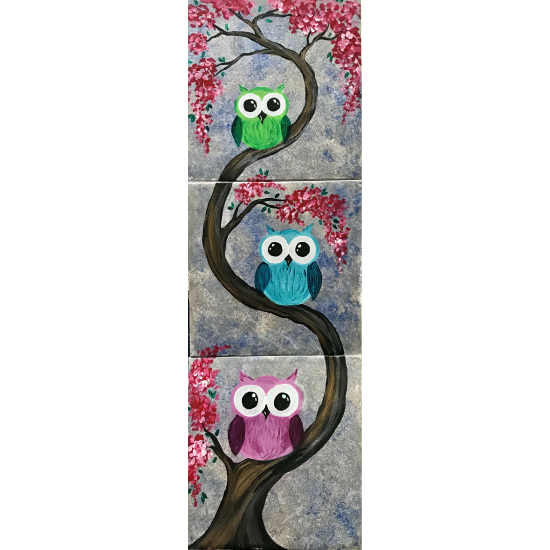 The Family That Hoots Together Mini Collaborative