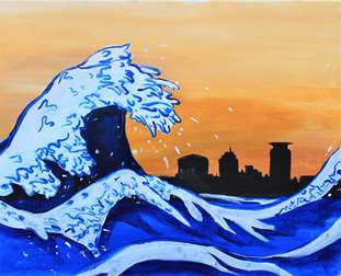 The Great Wave of Minneapolis