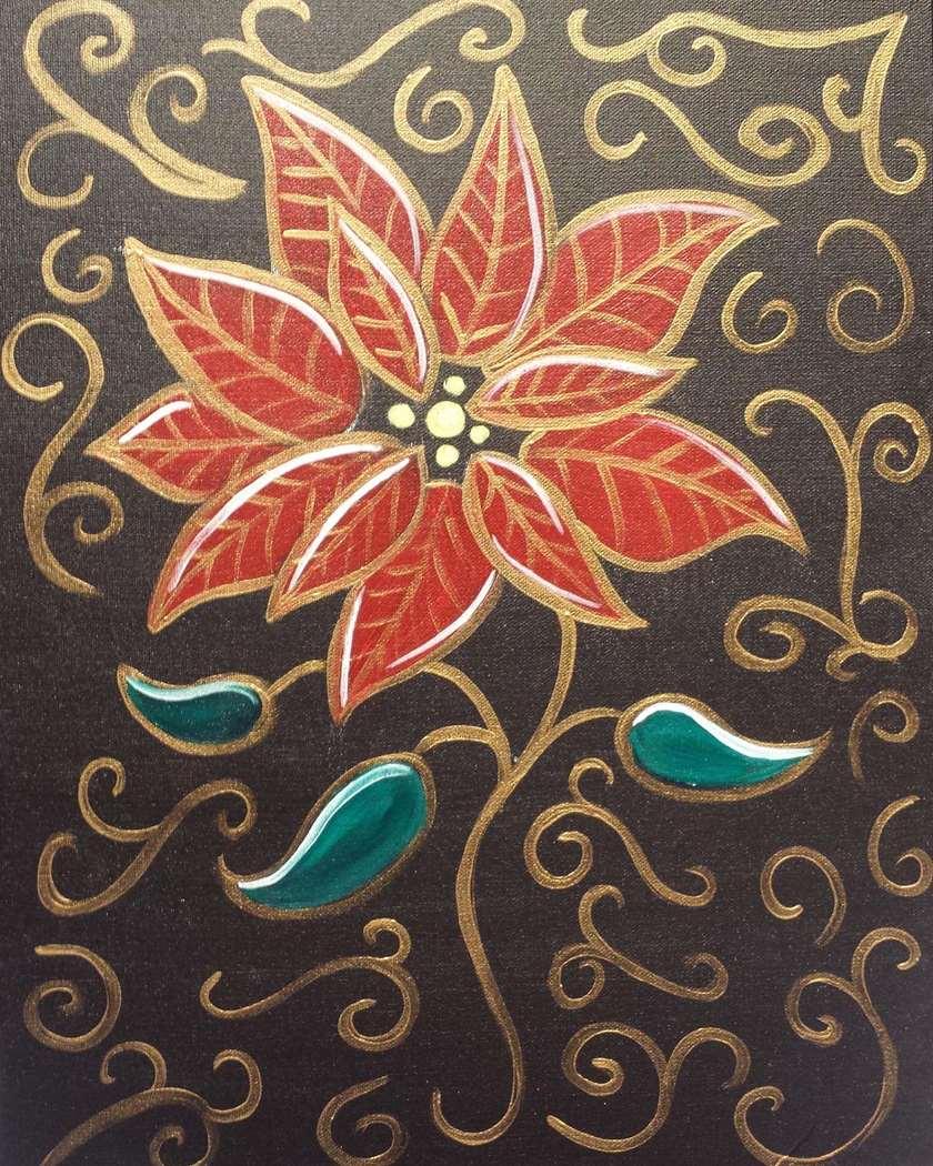 The Pretty Poinsettia