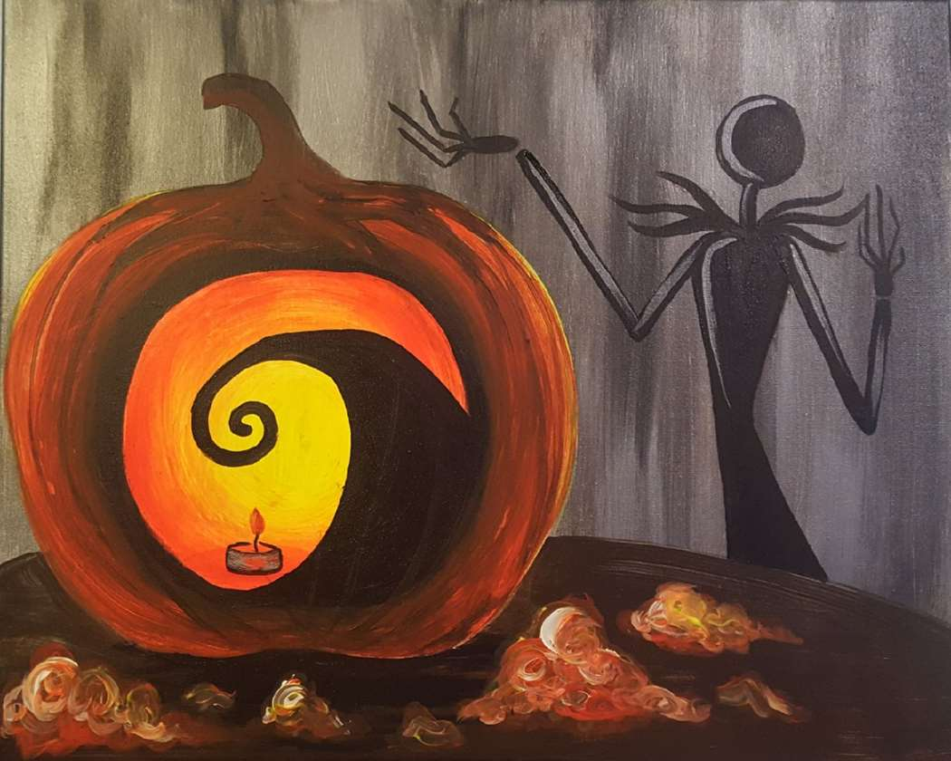 IN STUDIO CLASS: THE PUMPKIN CARVING KING - $3 GLASSES OF HOUSE WINE SPECIAL