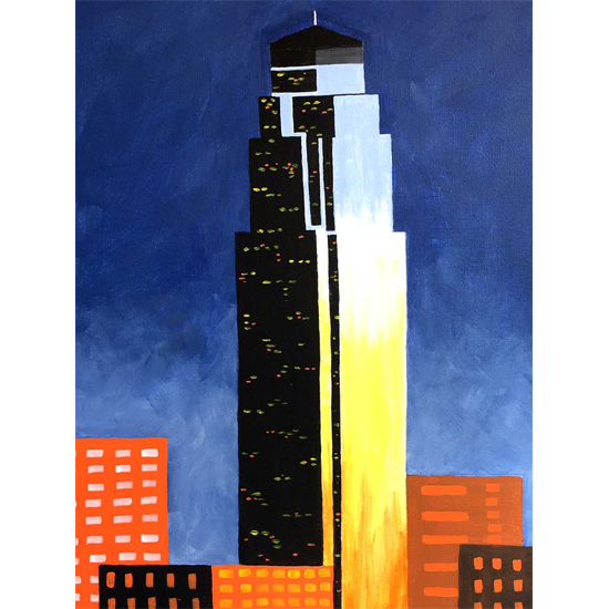 New Montrose Original!  The Tower Formerly Known as Transco