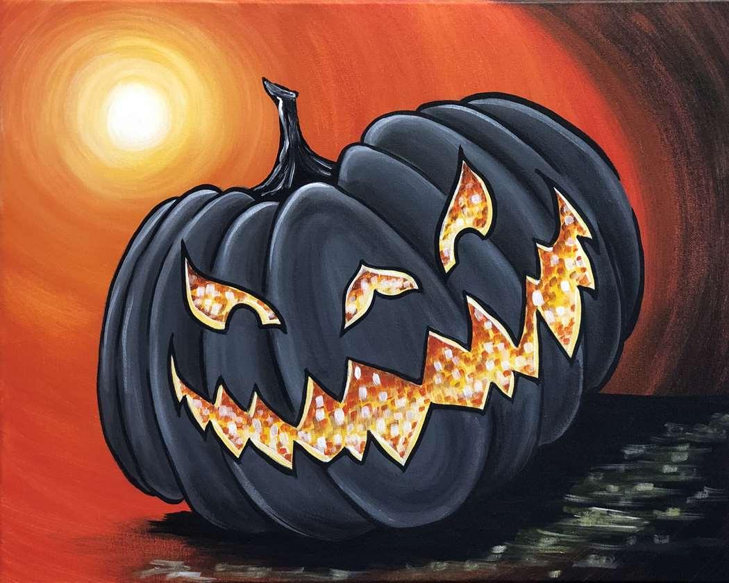 Black light Halloween Party!