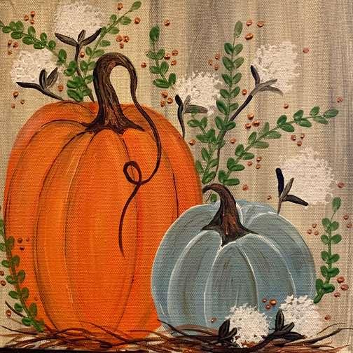THPK Country Pumpkins 10x10