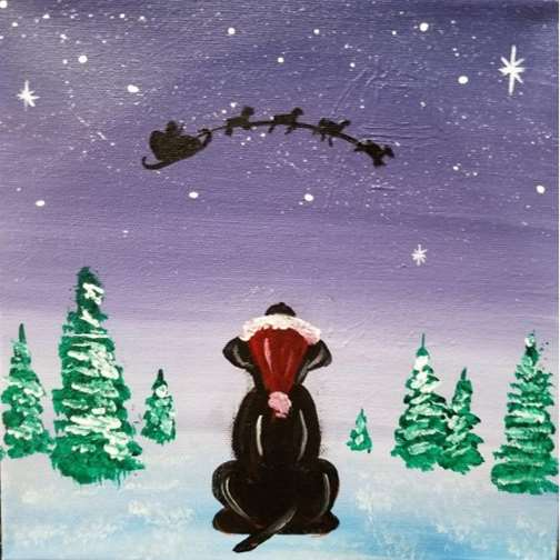 THPK Waiting for Santa