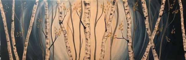 Through the Birch Trees