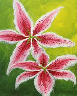 Tiger Lilies in Bloom