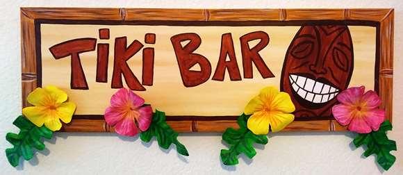 Tiki Bar 3-D