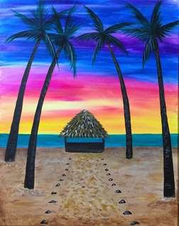 Tiki Sunset