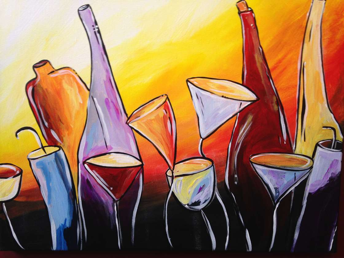 Tipsy Wine Garden - In Studio Event - Limited Seating Available