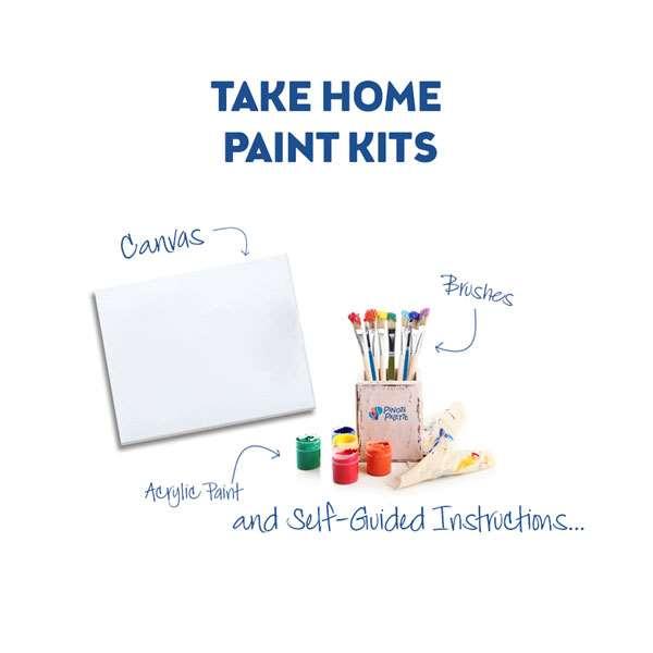 To Go Paint Kits: Minimum Purchase of 2 Kits Req'd