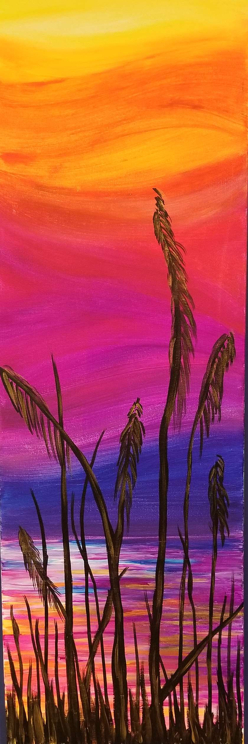 GLOW NITE!!  Blacklight Painting!!!