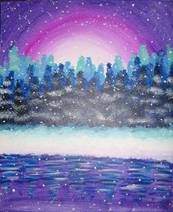 Tranquil Snowfall