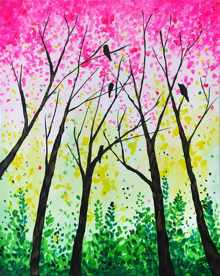 IN STUDIO CLASS: TREETOP FLOCK - LIMITED SEATING