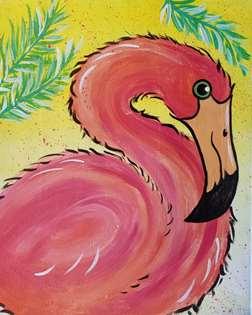 Tropical Flamingo