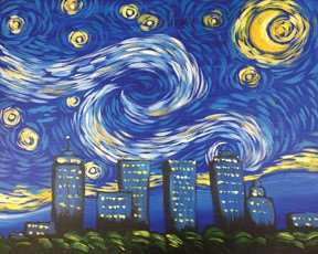 Tulsa Starry Night