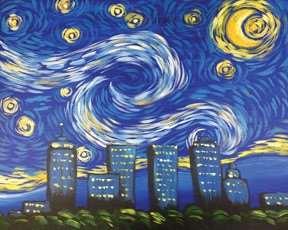 Tulsa Starry Night