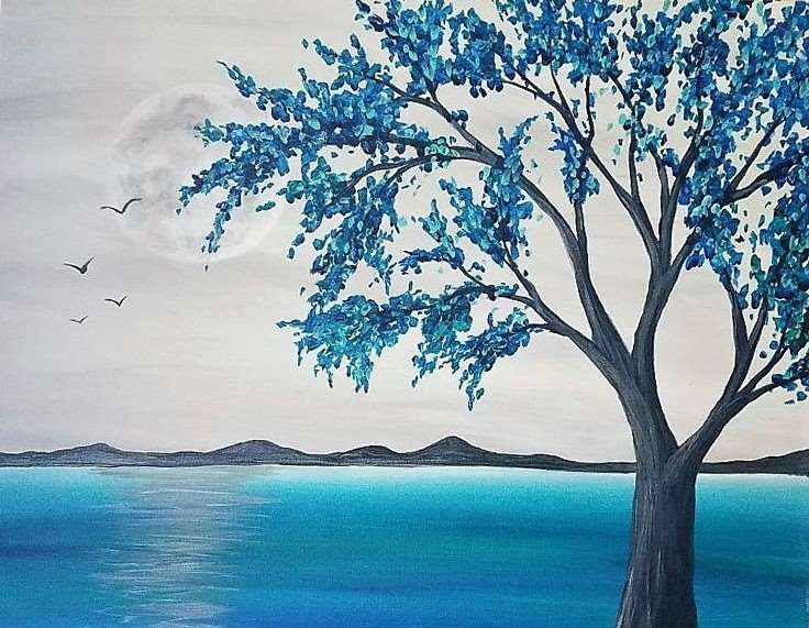 IN STUDIO CLASS: TURQUOISE BAY - LIMITED SEATING