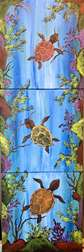 Turtle Love 10x10 Collaborative