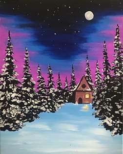 Twilight in the Woods