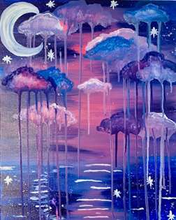 Twilight Rain Clouds