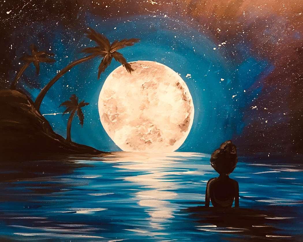 Moonlit Swim