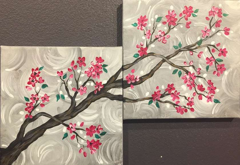 Two for One Cherry Blossom Branch