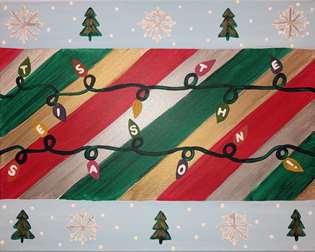 Ugly Christmas Painting