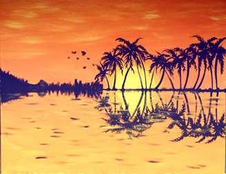 Ukulele Sunset