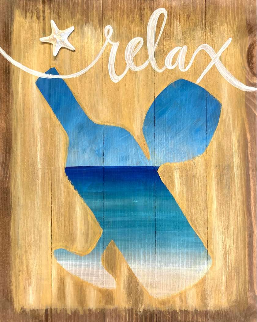 In Studio Event  - Un-Wined & Relax (Wood Palette)