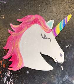 Unicorn Wooden Cut Out