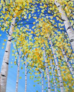 Up Through the Aspens