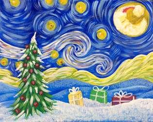 Van Gogh Christmas