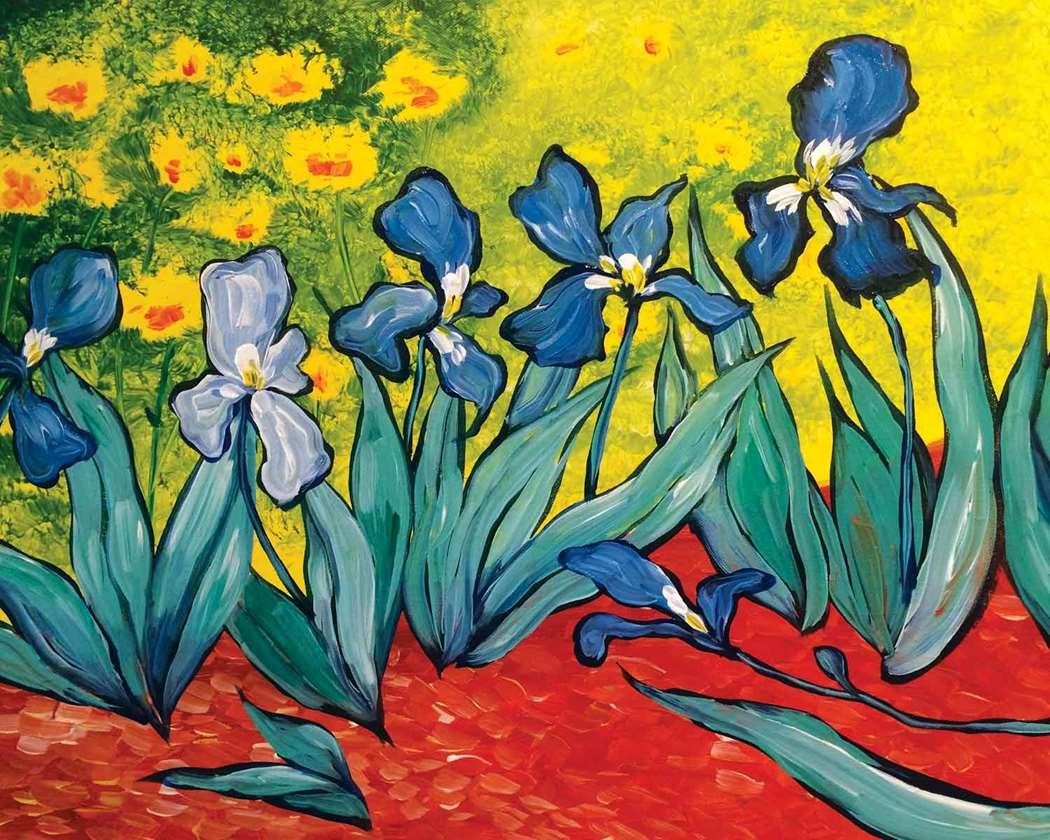 Van gogh les iris mon feb 06 630pm at naperville van gogh les iris izmirmasajfo