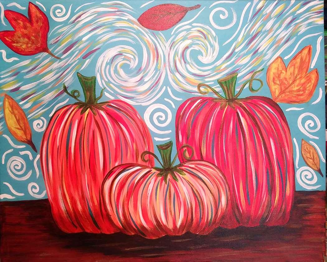 Van Gogh Pumpkins - Family/Teen Day!