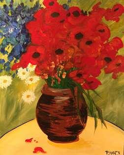 Van Gogh's Daisies and Poppies