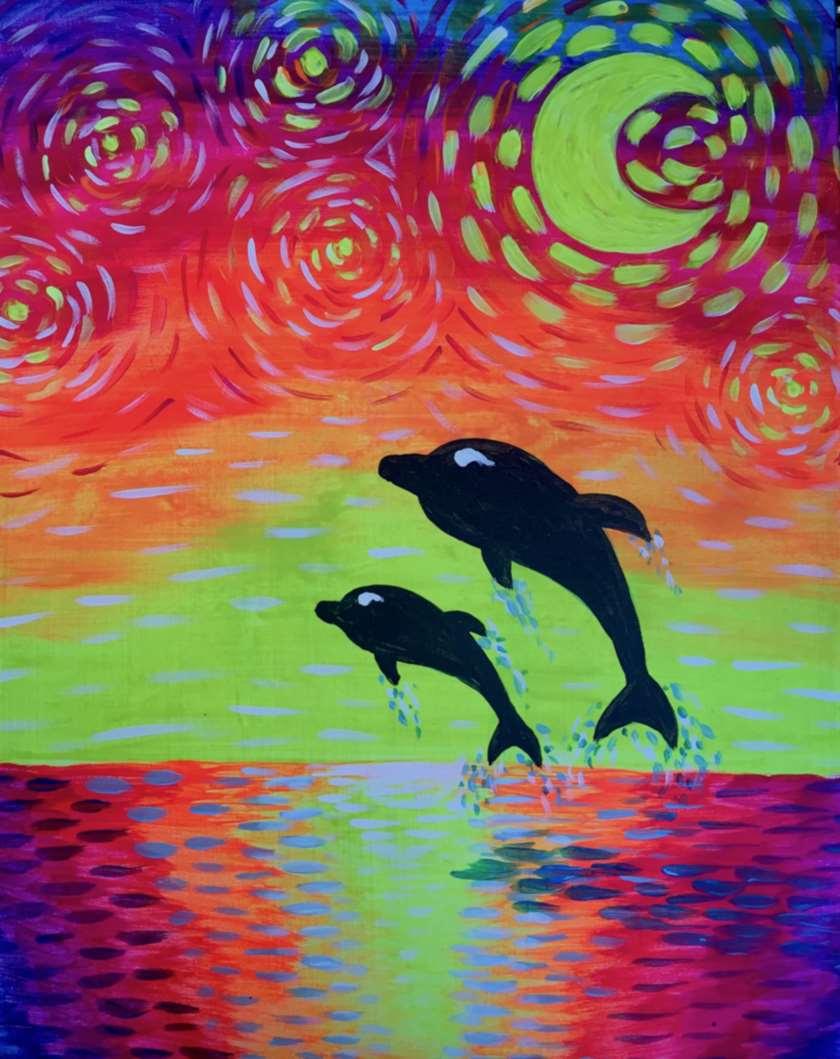 Van Gogh's Dolphins