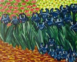 Van Gogh's Irises