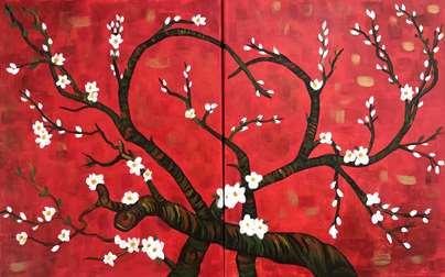 Van Gogh's Love Blossoms Date Night